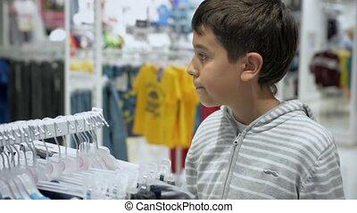 Children's shopping. Store for children.