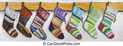 Children's socks for Christmas gifts