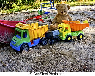 childrens, speelplaats