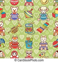 Children's toy. Animals.