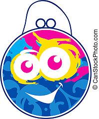Children's vector color Bag