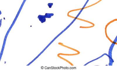Children%u2019s Drawings Texture