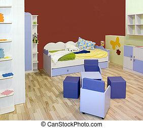 Modern Kid nursery room