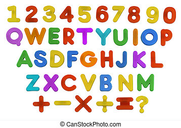 Child's ABC QWERTY