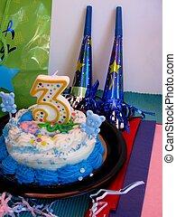 Child\'s birthday cake
