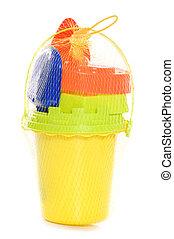 Childs bucket and spade studio cutout
