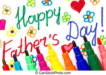 Child's drawing for Father's day