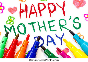 Child's drawing for Mother's day