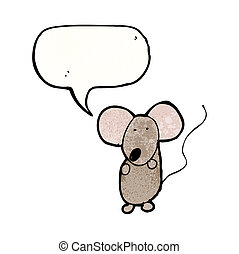 child's drawing of a mouse