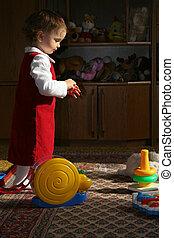 child\\\'s, napos, szoba