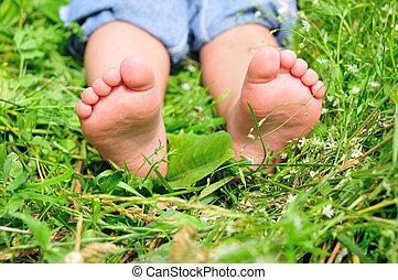 child\'s, pés