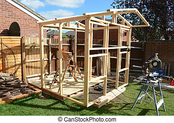 Childs Play house construction