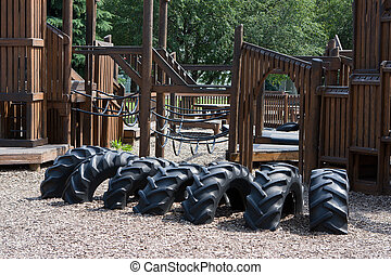 Childs PLayground - Fun looking childs playground that just ...