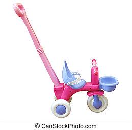 child\'s, poussée, jouet