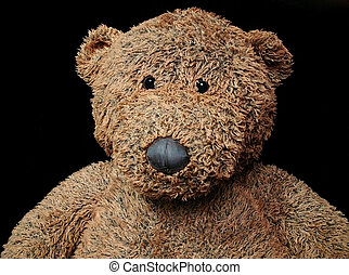 teddy bear - child's worn teddy bear