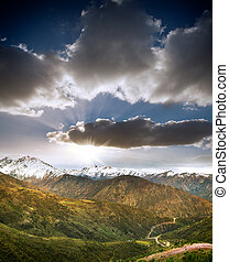 Chile Andes - Beautiful Andes Mountains in Chile