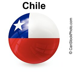chile ball flag