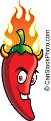 chile, diablo