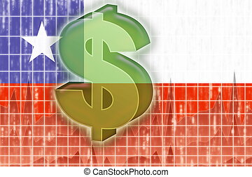 Chile flag finance economy - Flag of Chile, national symbol...