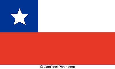 chile Flag for Independence Day and infographic Vector illustration.