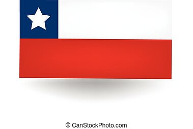 Chile Flag - Official flag of Chile.