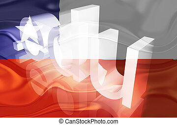 Chile flag wavy education - Flag of Chile, national symbol...