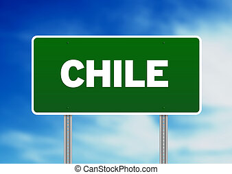 Chile Highway Sign