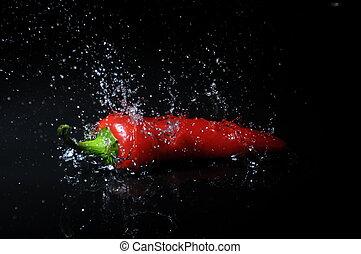 chile, salpicadura