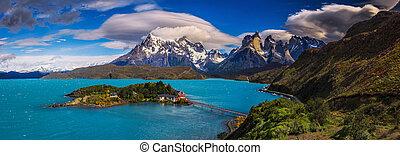 chileno, alrededor, patagonia