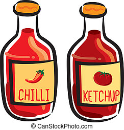Chili and tomato sauce