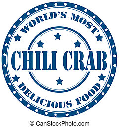 Chili Crab-stamp