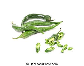 Chili green pepper
