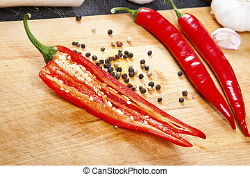 chili hot peppers