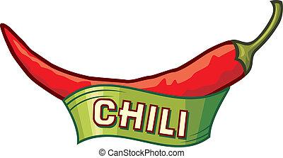 chili pepř, charakterizovat