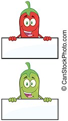 Chili Pepper. Collection