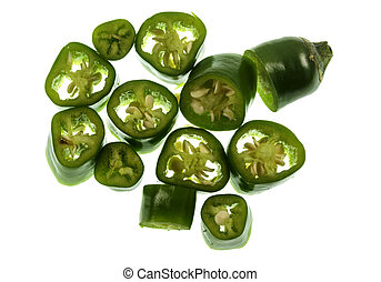 Chili Pepper Green Cayenne - Green Cayenne pepper is a type...