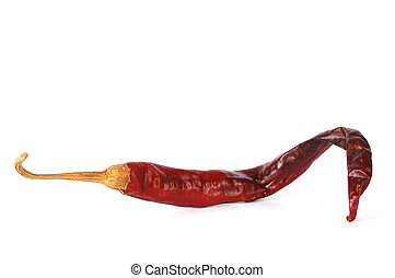 Chili pepper - Red chili pepper from Thailand with clipping...