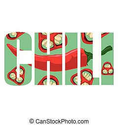 Chili pepper sign
