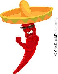 chili, silny