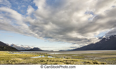 Chilkat Beach in Fall