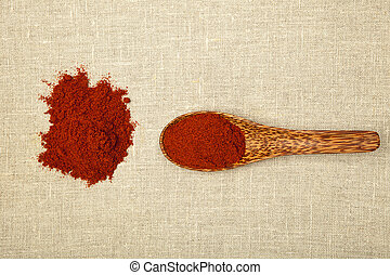Chilli pepper spice.