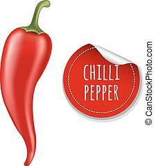 chilli, poivre chaud