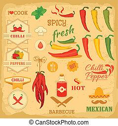 chilli, spezia, peperoncino