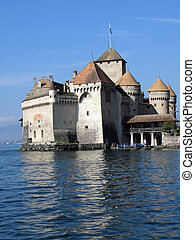 Chillion castle, Geneva lake, Switzerland