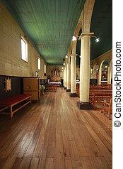Chiloe Chile - Wooden church