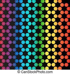 chimica, modello, esagonale, disegno, molecola, struttura, scientifico, o, medico, dna, research., medicina, scienza tecnologia, concept., geometrico, astratto, colorito, fondo.