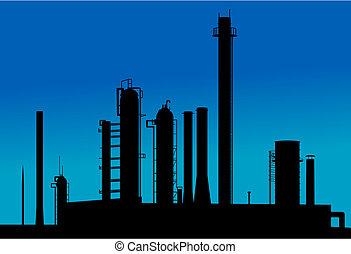 chimico, fabbrica