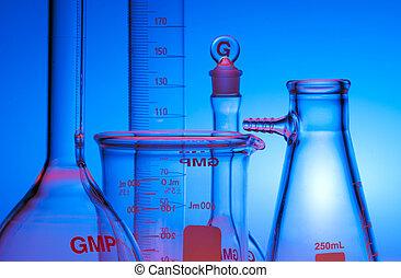 chimico, vetreria