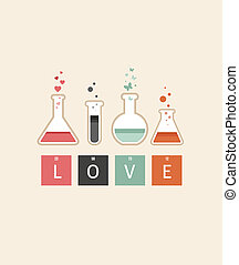 chimie, amour