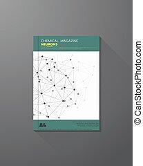chimique, connexions, couverture livre